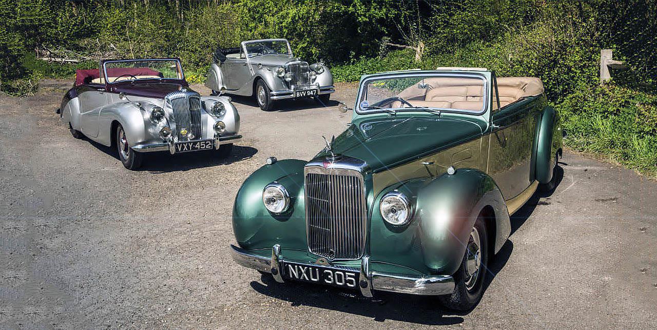 Daimler Special Sports, Jaguar MkV or Alvis TA21 - giant road test