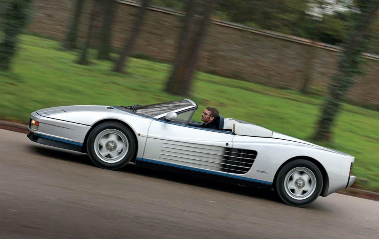Unique Ferrari Testarossa Spider road test