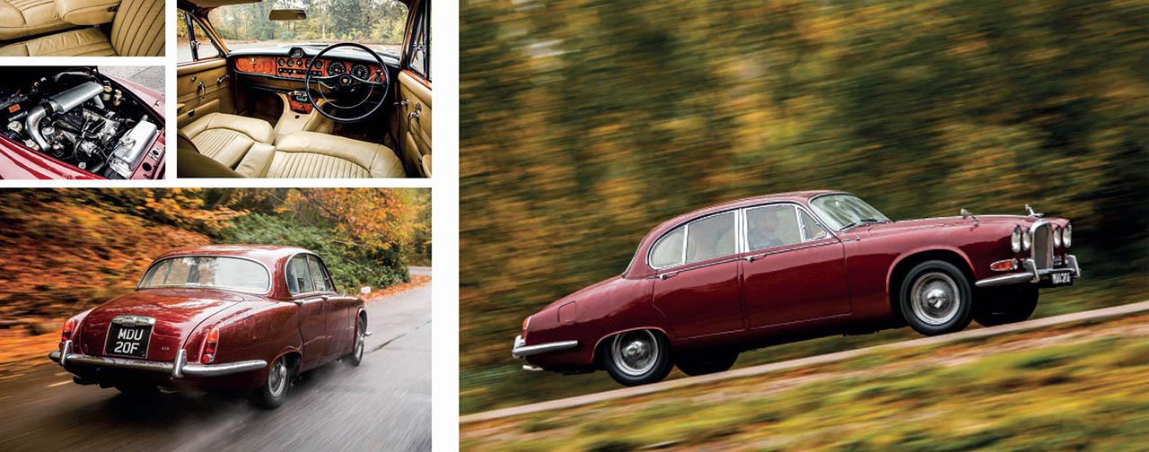 Jaguar 420 road test