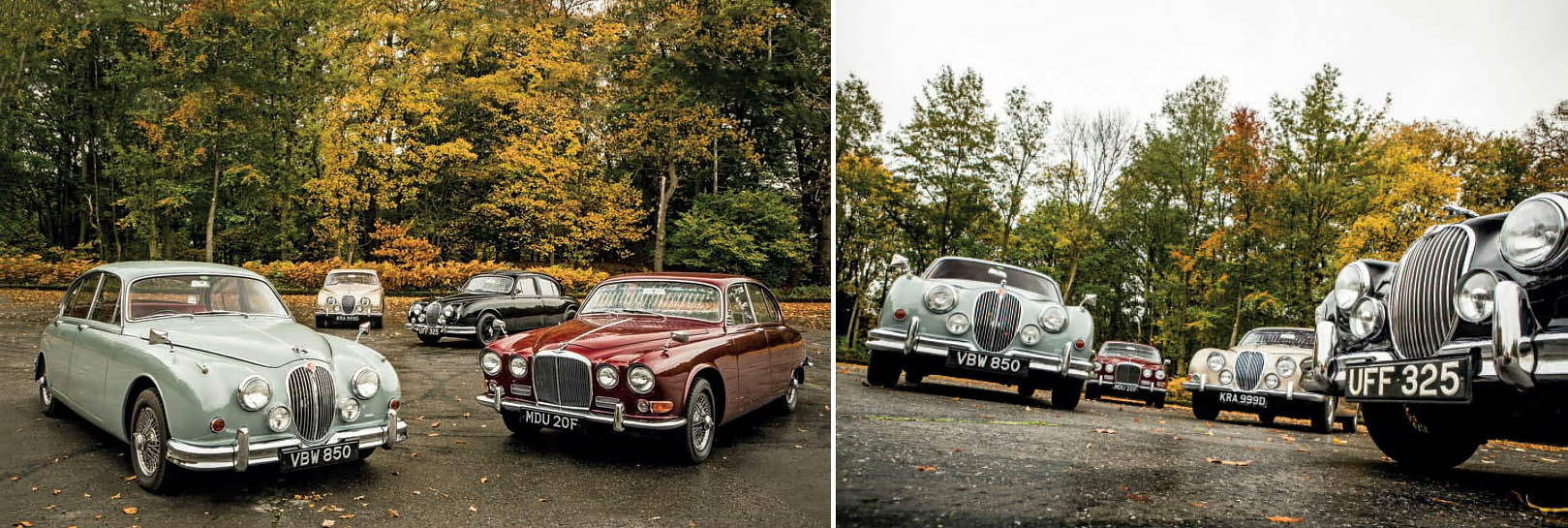 Drive Jaguar's fabulous line of saloons, from the Mk1, Mk2, S-type and 420