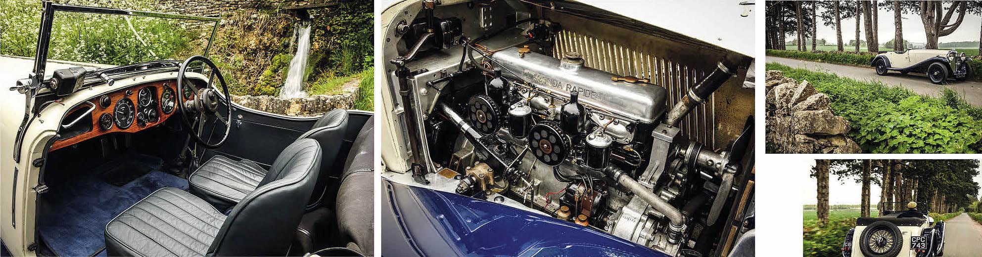 Lagonda M45 Rapide road test