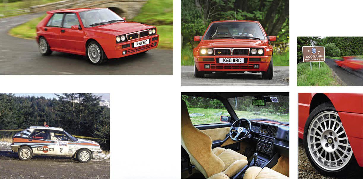 Lancia Delta Integrale Evo 2 driven