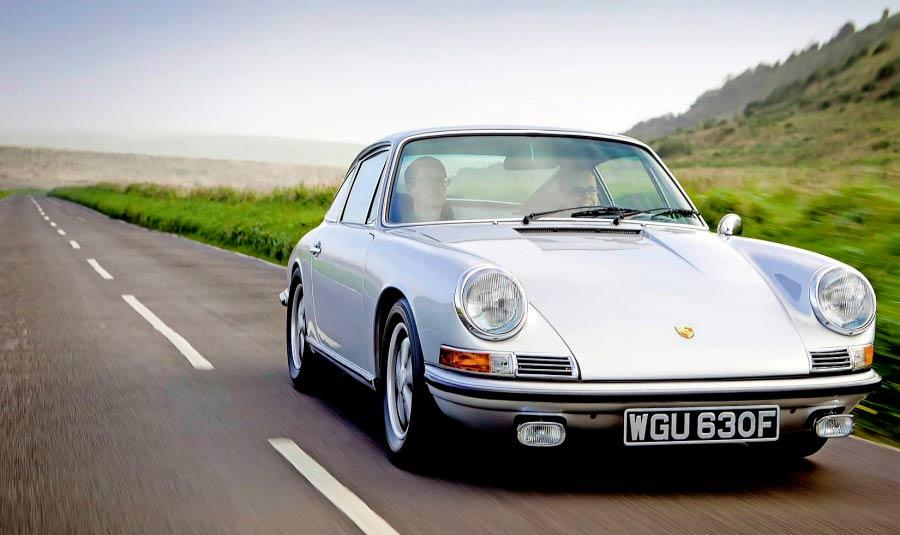1968 Porsche 911 2.0S SWB driven