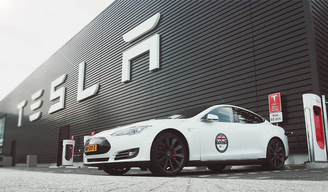 Tesla Model S P85D test
