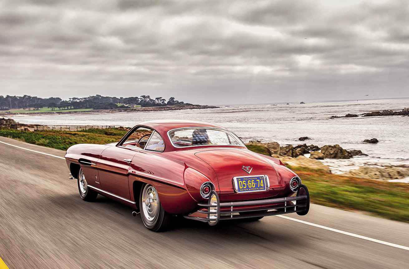 1953 Fiat 8V Ghia Supersonic road test