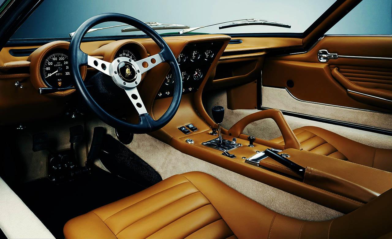 1971 Lamborghini Miura SV Sant'Agata's first factory rebuild