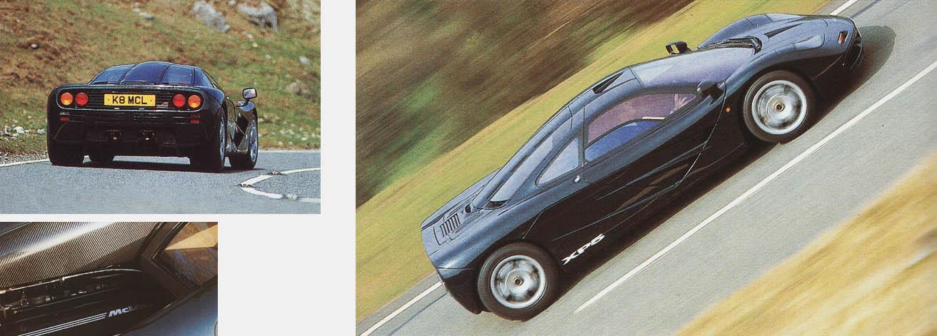 1993 McLaren F1 XP5 giant road test