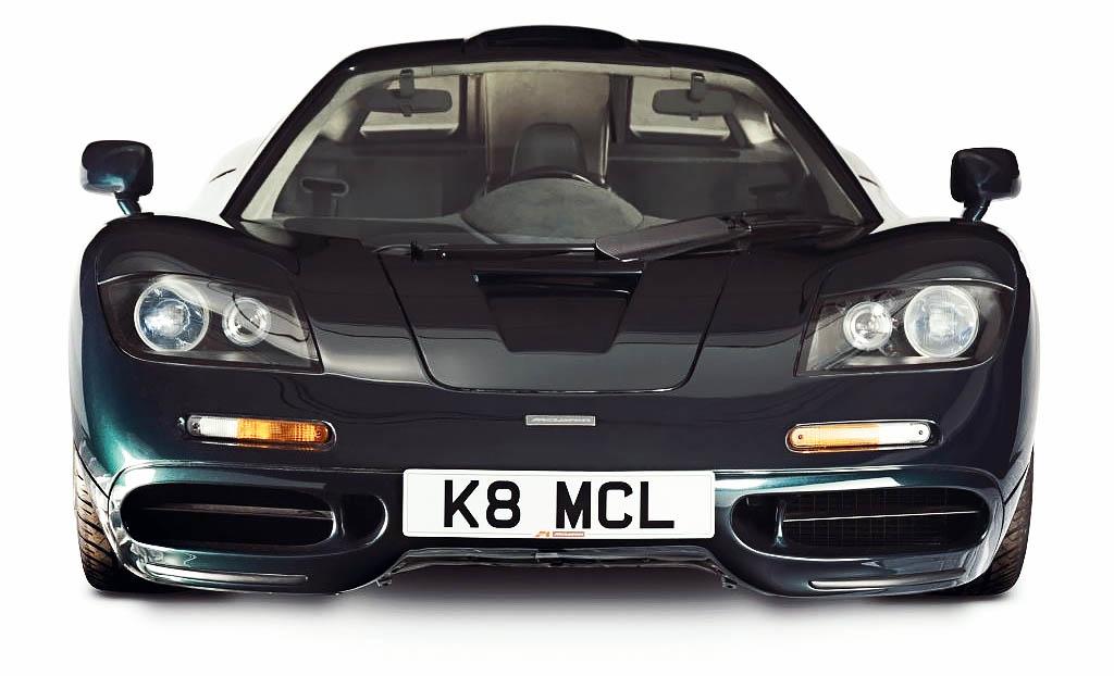1993 McLaren F1 XP5 giant road test K8 MCL UK-reg