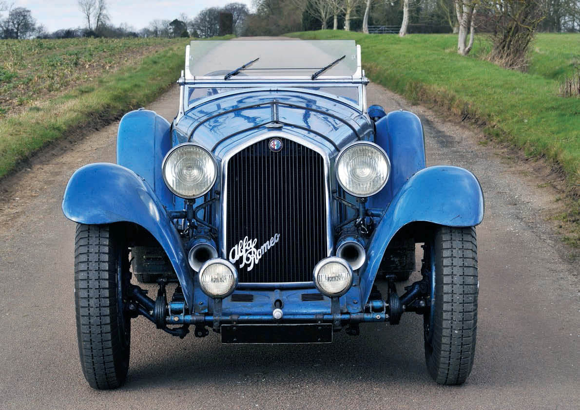 Alfa Romeo 8C 2300 Surfaced after 70 years