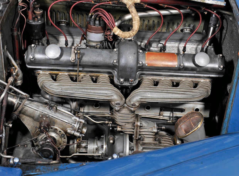 Alfa Romeo 8C 2300 engine