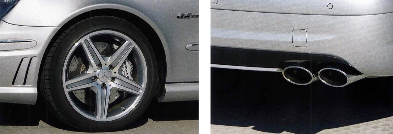 Mercedes Benz E63 AMG W211
