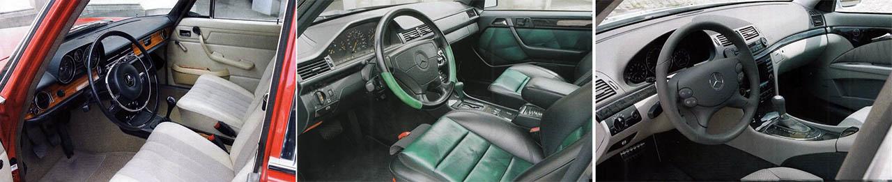 Mercedes Benz 280E W114, E500 W124 and E63 AMG W211 1000bhp Classic comparison test