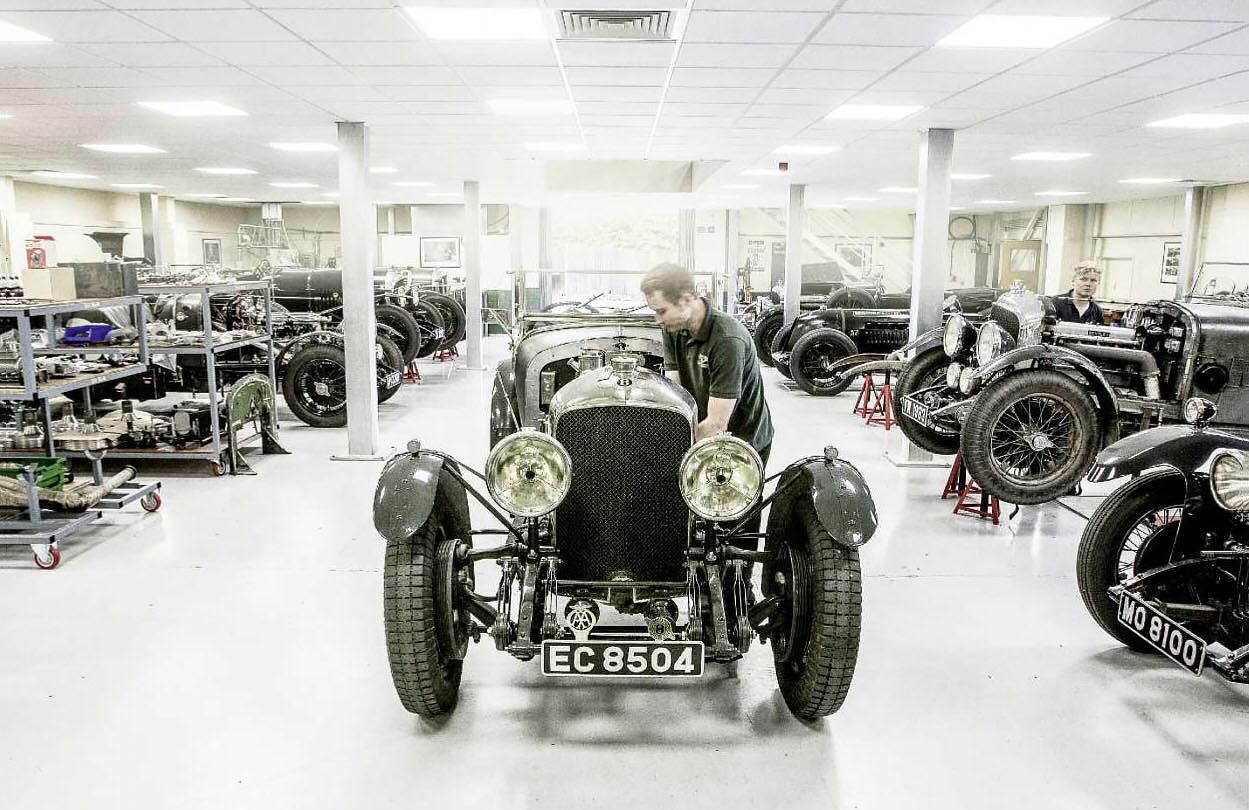 1928 Bentley 3-Litre Mulliner Saloon