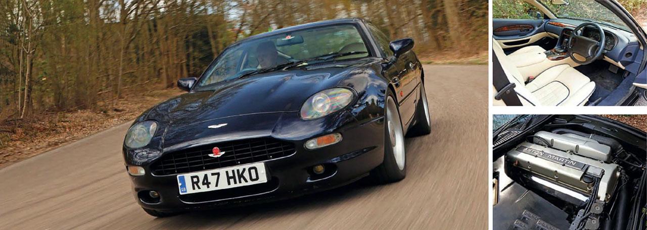 Aston-Martin DB7 automatic