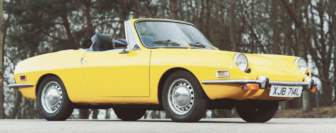 1973 Fiat 850 Spider