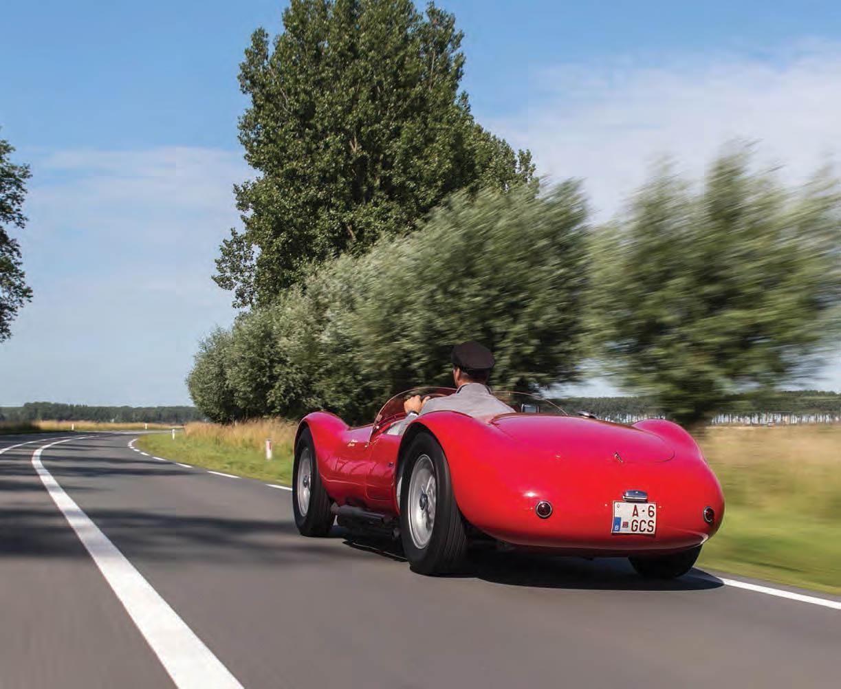 Maserati A6GCS road test