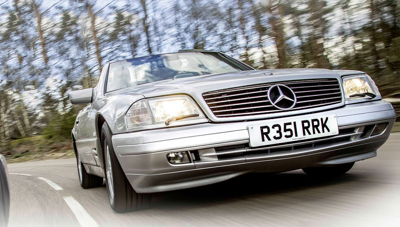 Mercedes-Benz SL500 R129 road test