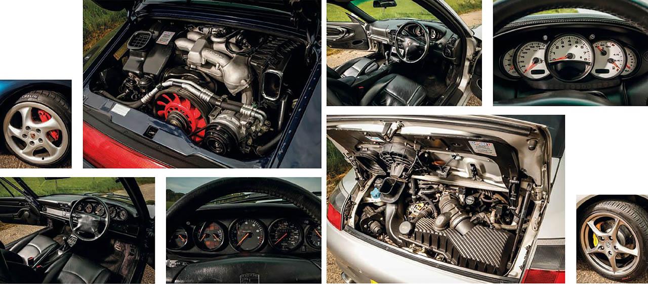 Porsche 911 993-seies vs. 996-series
