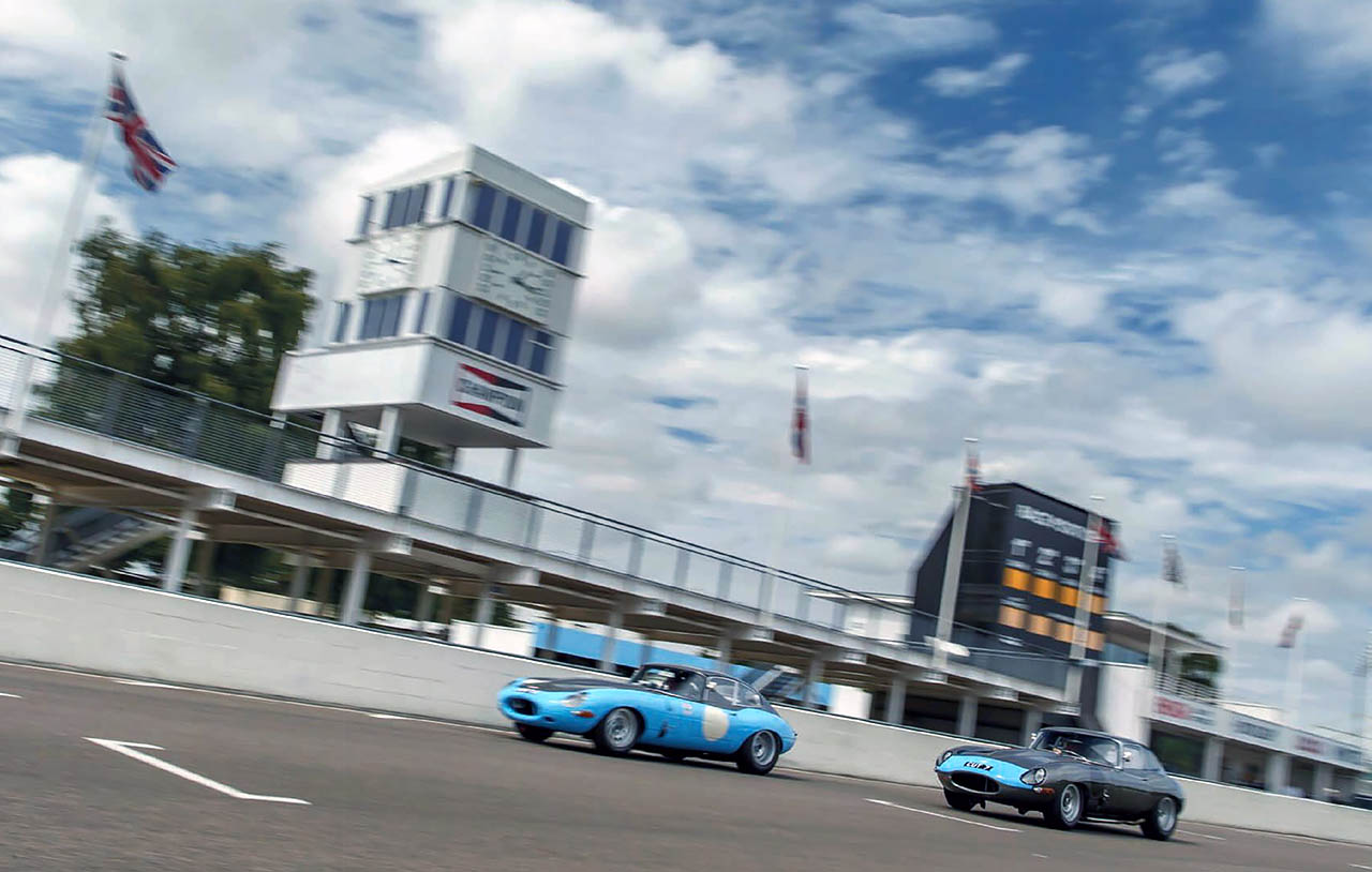 Reunited Protheroe's Jaguar E-types CUT 7 and 8 racers