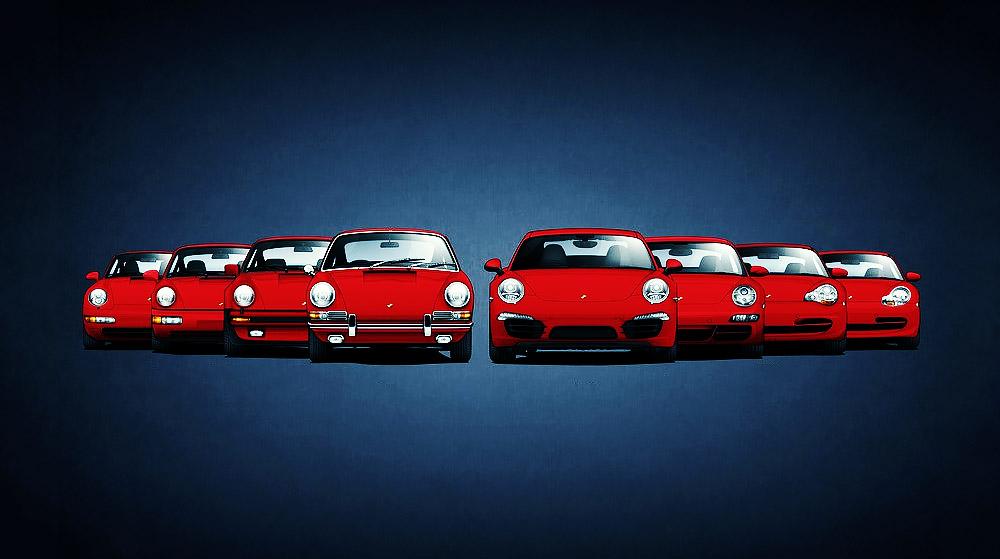 A concise history of the Porsche 911