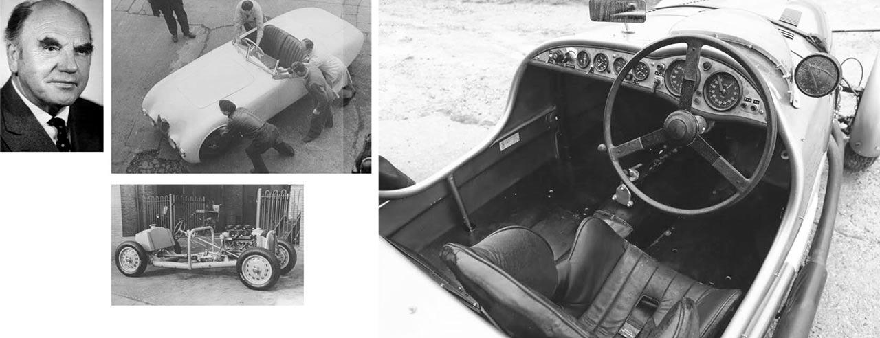 1948 Frazer Nash High-Speed interior