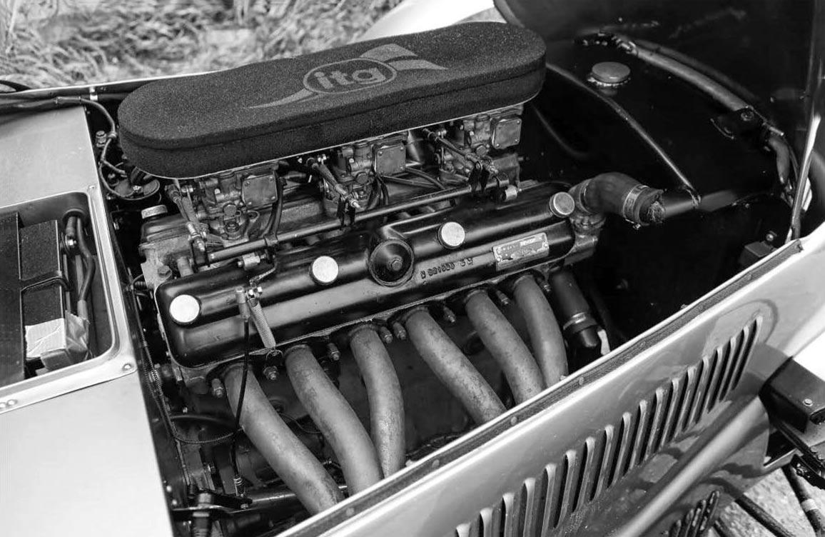 1948 Frazer Nash High-Speed engine six