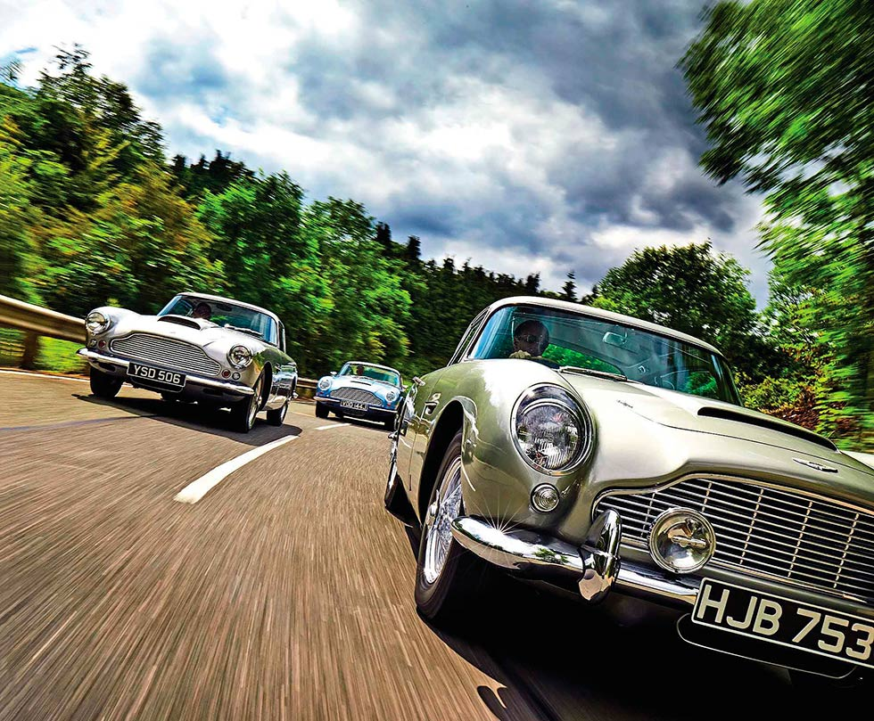 1958-1970 DB4, DB5 and DB6 by Andrew English