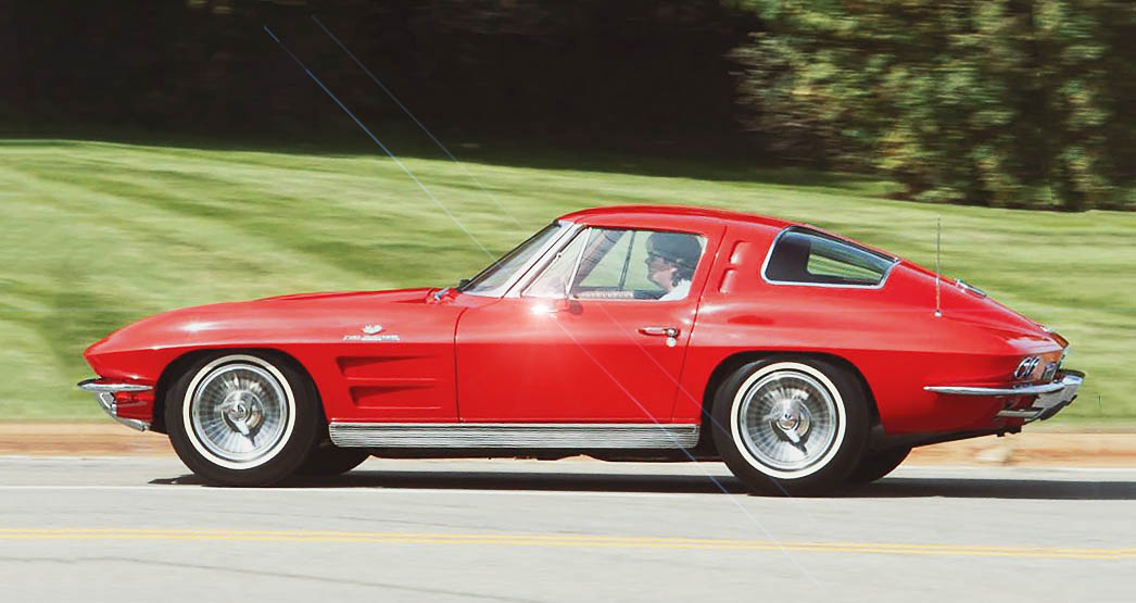 1963 Chevrolet Corvette Sting Ray C2 360bhp fuel injection version road test