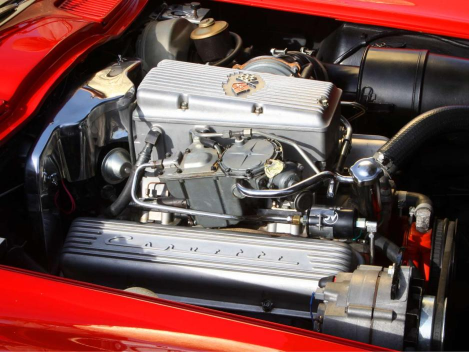 1963 Chevrolet Corvette Sting Ray C2 360bhp Rochester fuel injection system 5.4 V8 engine
