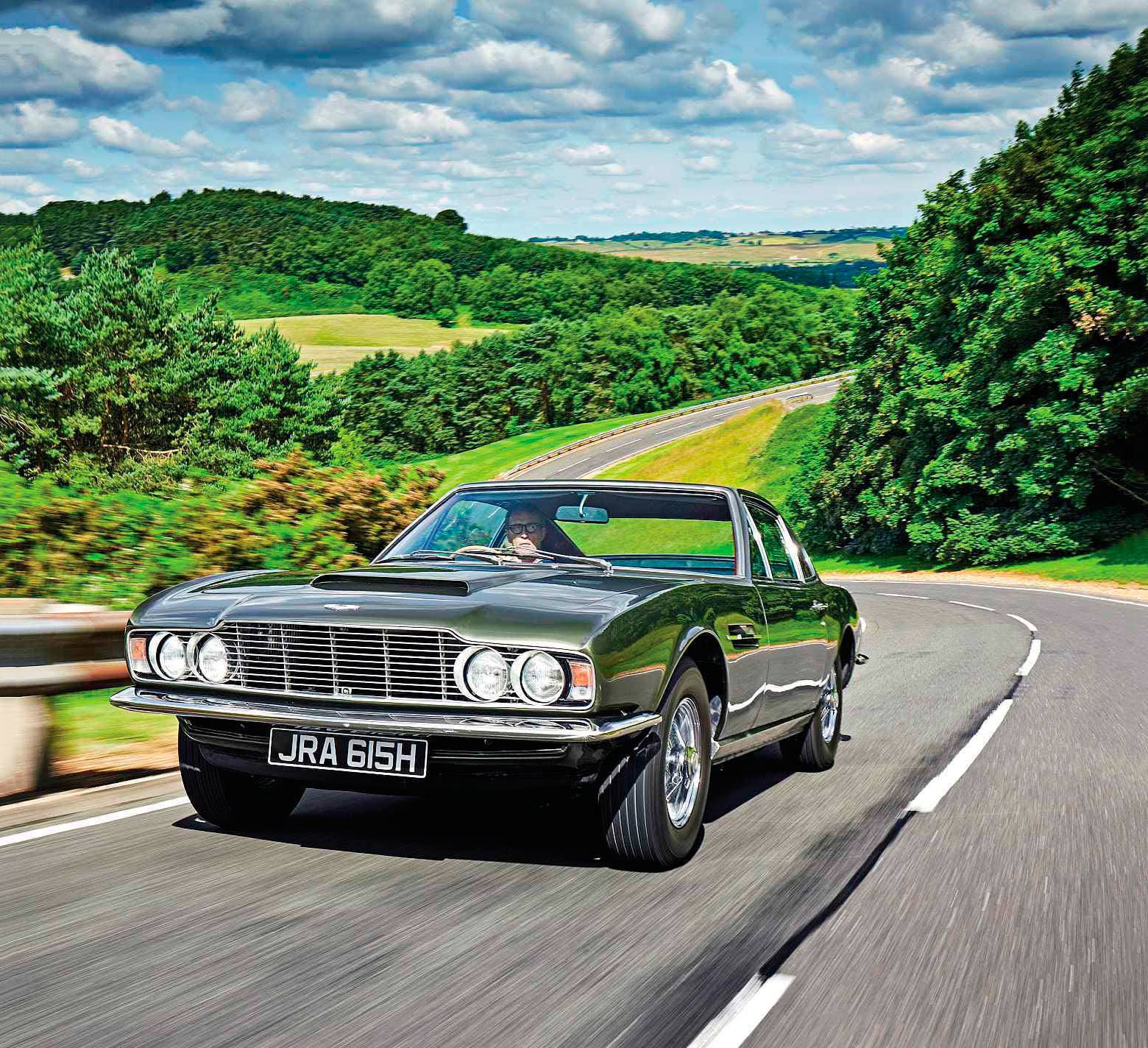1970 Aston Martin DBS road test