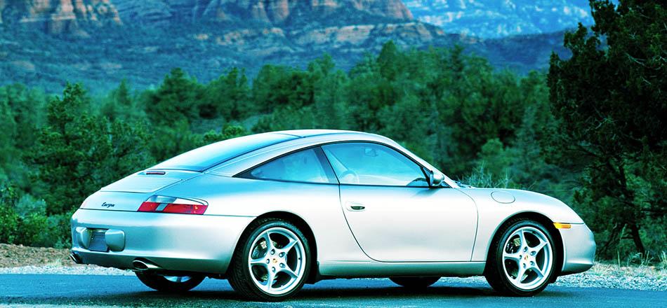 2001 Porsche 911 Targa 996.2