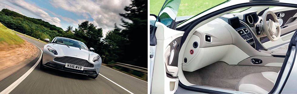 2016 Aston Martin DB11 road test