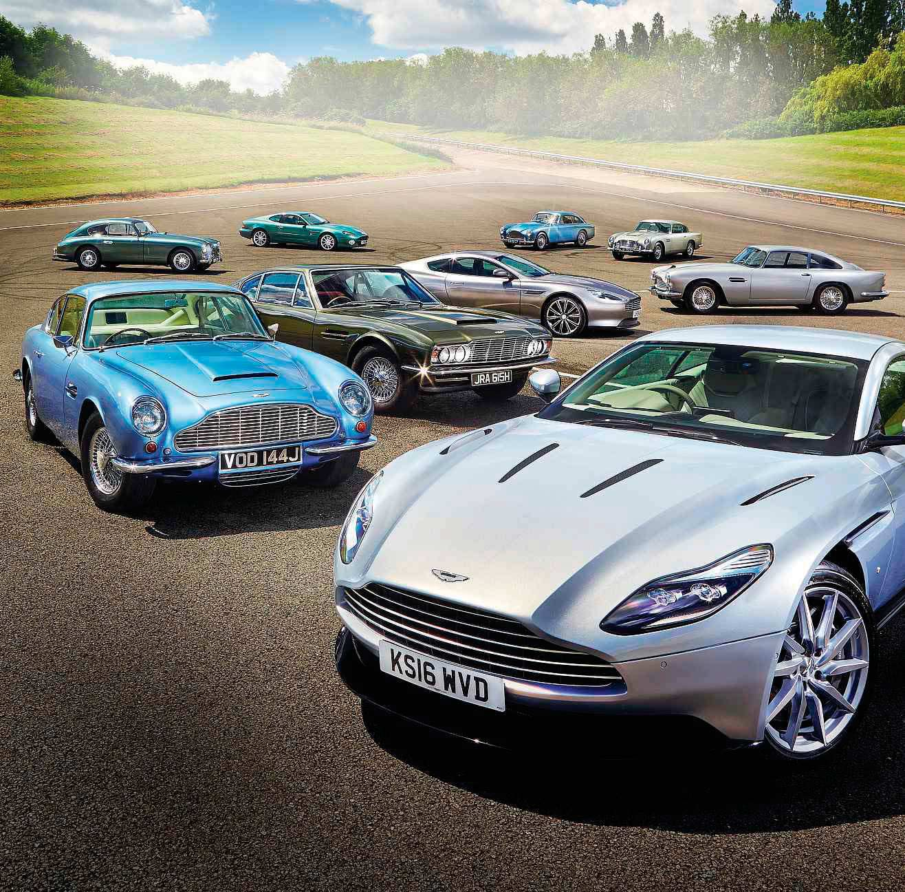 The Aston-Martin DB story and drive