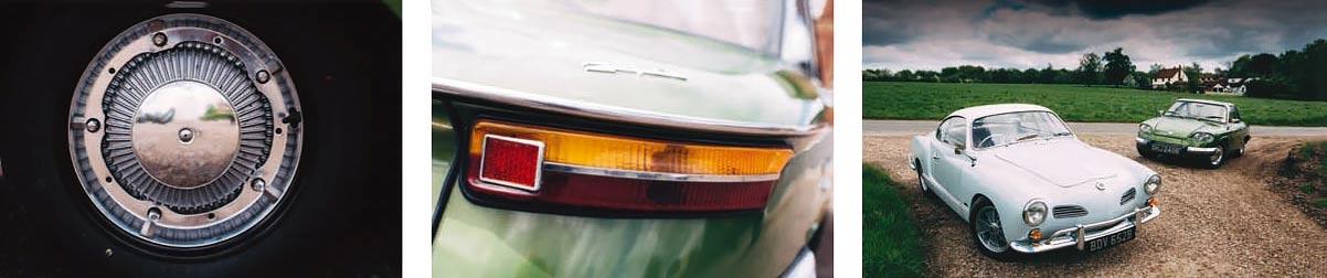Panhard 24CT vs. Volkswagen Karmann Ghia air-cooled road test