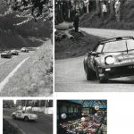 From top: an eclectic grid heads into Rouen's first corner, 1964; awaiting the start of a test in Nice, 1953; the Tour ventured into Belgium, too – 1969 winner Gérard Larrousse is pictured at Spa; Bruno Saby trying hard in 1976 aboard the Lancia Stratos in which Bernard Darniche had won the '1975 Tour.