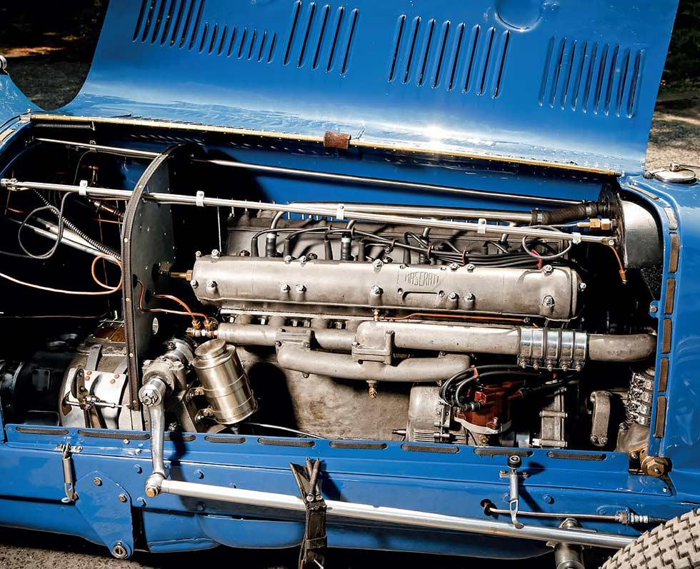 1933 Maserati 8CM engine