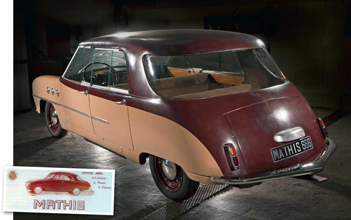 1948 Mathis 666 prototype