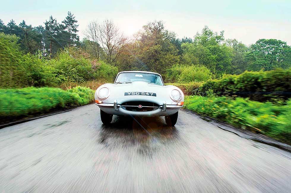 1961 Jaguar E-type restorer CMC's 100-mile test-route in its freshly rebuilt
