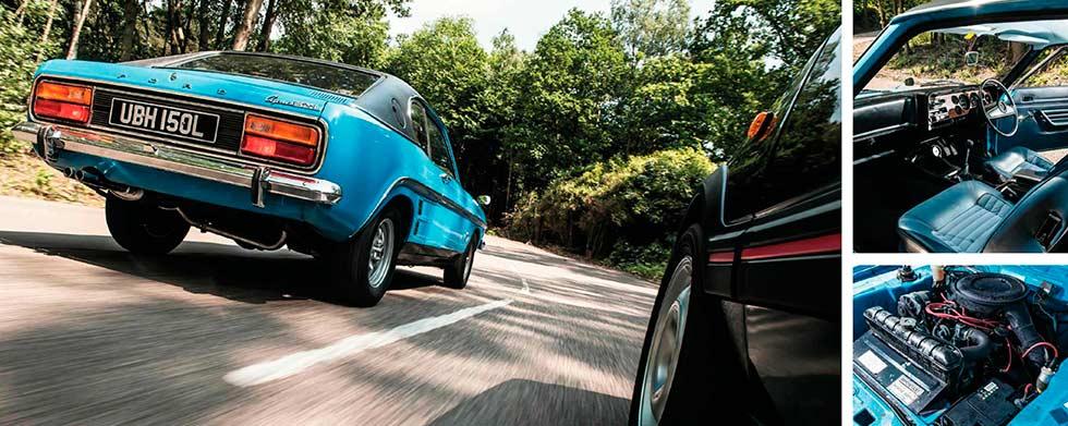 1973 Ford Capri 3.0 GXL road test