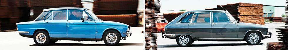 1975 Triumph Dolomite Sprint vs. 1977 Renault 16TX