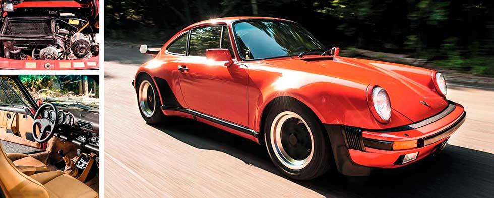 1985 Porsche 911 (930) Turbo road test