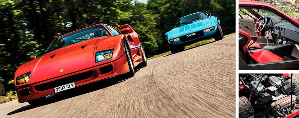 1988 Ferrari F40 road test