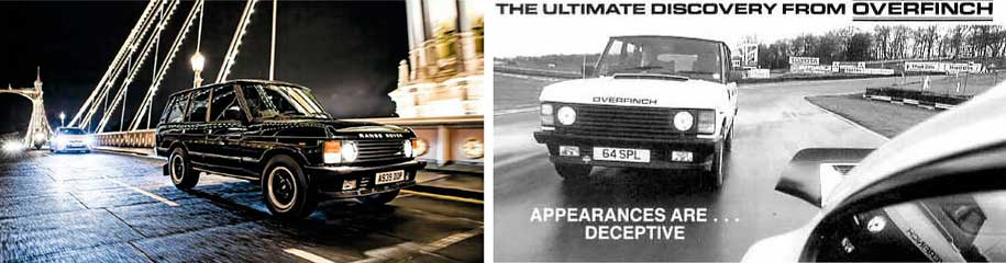 Overfinch 570i Range Rover first generation with US V8