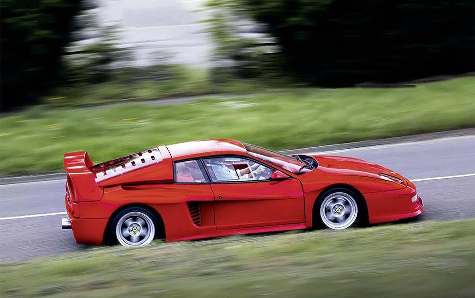 1987 Koenig Ferrari Testarossa Competition Evolution II driven