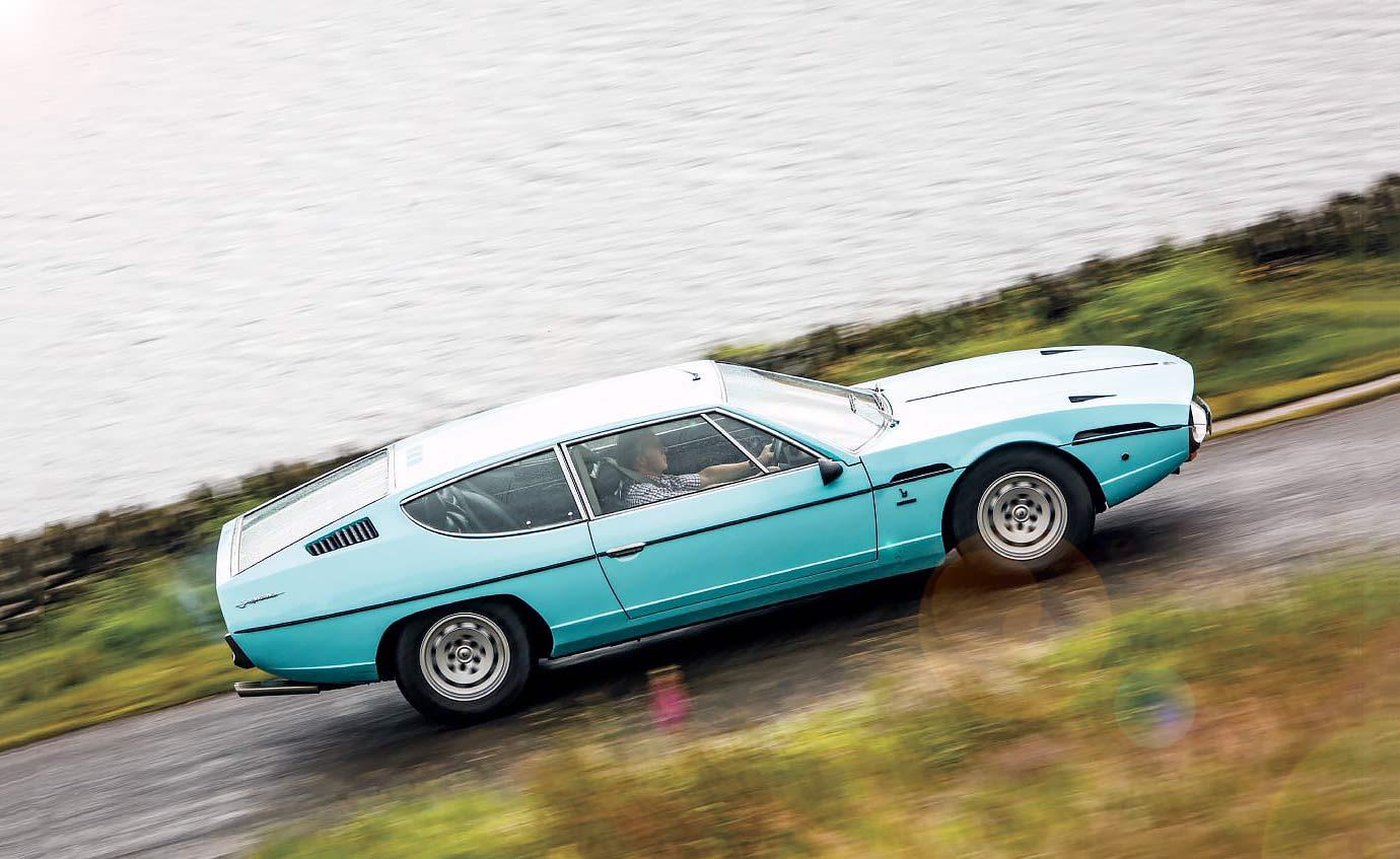 Lamborghini Espada road test