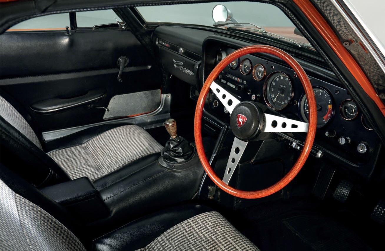 MazdaCosmo Coupé 110S interior RHD