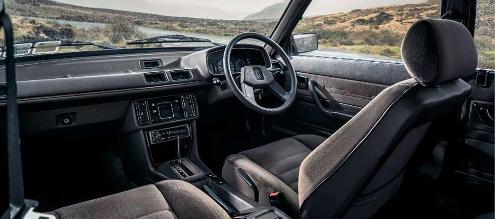 Peugeot 505GTi interior