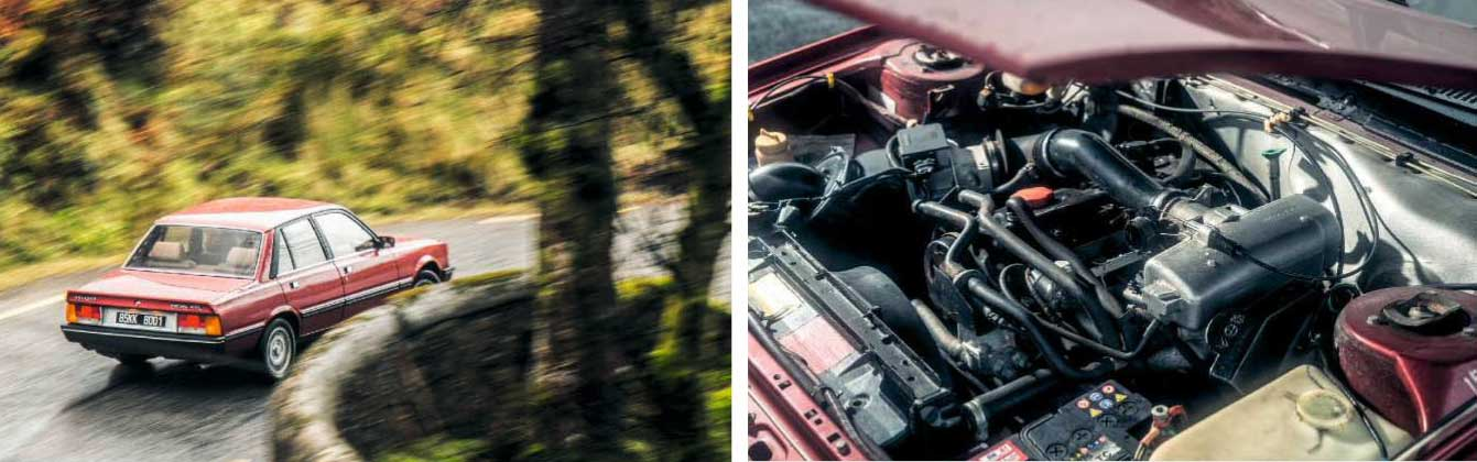 Peugeot 505GTi road test