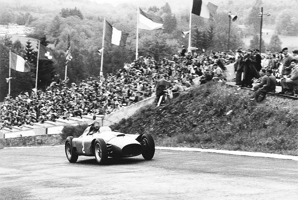 When Fangio met Ferrari