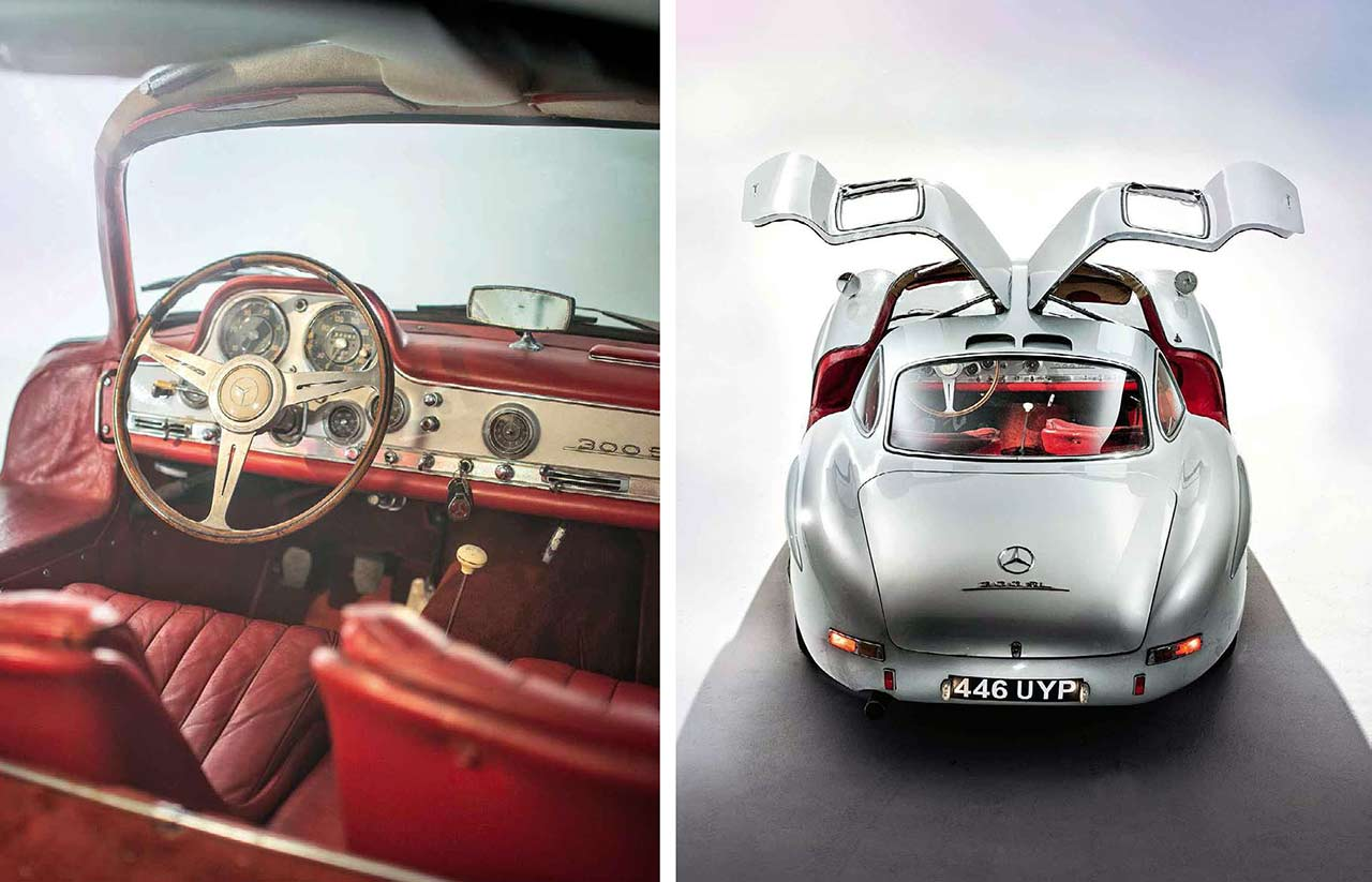 40 years with a £2300 Mercedes-Benz 300SL Gullwing W198